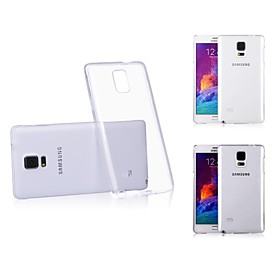 XUNDD Transparent Solid Color Hard Back Cover for Samsung Galaxy Note4(Assorted color)