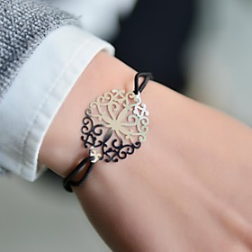 Fashion Women Cut Out Stamping Elastic Bracelet coupon codes 2016