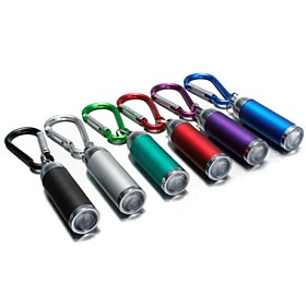 LS174 Key Chain Flashlights LED - 1 Emitters Mini Emergency Small Size Camping / Hiking / Caving Everyday Use Fishing