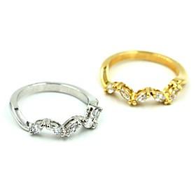 Frauen neue Legierung Mode lässig Ringe 2575488