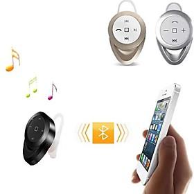 bluetooth v4.0 i-oret stereo hodetelefoner med mikrofon for 6/5 / 5s samsung s4 / 5 htc lg og andre (assorterte farger)
