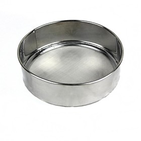 Stainless Steel Flour Sieve Sugar Powder Sifter Baking Tools colanders Strainer Flour Mesh Pastry Tools