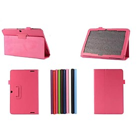 Image of 10.1 Inch Two Folding Pattern Lichee PU Leather Case for Acer Iconia A3-A20(Assorted Colors)