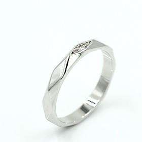 Frauen Silber-Legierung Mode Eheringe 2576536