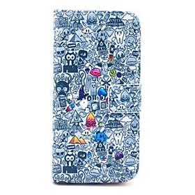 fuusii 06 iphone 6 / 4,7 Leder gemalt Ganzkörper-Fall rückseitige Abdeckung Fall mit Standplatz für iphone 6 / 4.7 2597742