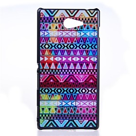 Tribal Symbols Pattern PC Hard Back Case for Sony Xperia M2 S50h