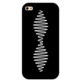 Curve Pattern Hard Back Case for iPhone 5/5S 2699005