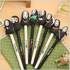 Pen Pen Gel Pens Pen, Silicone Plastic Black Ink Colors For School Supplies Office Supplies Pack of