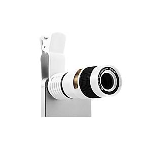 8x enkelt rør mobiltelefon mikroskop til iPhone / iPad og andre 2629695