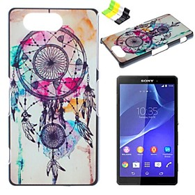 Wind Chimes Pattern PC Hard Case and Phone Holder for Sony Xperia Z3 Compact/Z3 mini