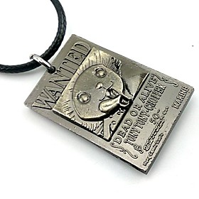 Jewelry Inspired by One Piece Tony Tony Chopper Anime Cosplay Accessories Necklace Silver Alloy Male 2605889