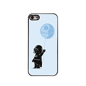 For iPhone 5 Case Case Cover Pattern Back Cover Case Cartoon Hard PC for iPhone SE/5s iPhone 5 2622133