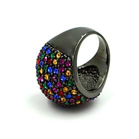 Frauenmehrfarbenlegierung Mode Ringe 2575477