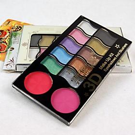 12 Eyeshadow Palette Matte / Shimmer Eyeshadow palette Powder Normal 2571427