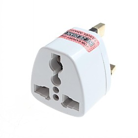 Universal US EU AU to UK Ac Power Plug Adapter Travel Converter 2707940