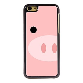 Lovely Pig Design Aluminum Hard Case for iPhone 5C coupons 2016