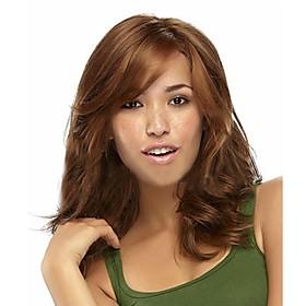 European and American Fashion New Long Hair Light Brown Hair Wig 2850409
