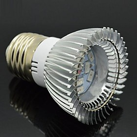 7W E27 Led Plant Grow Light AC 110-220V 6Red and 4Blue 10LED SMD 5730 Bulbs Spotlight for Flowering Hydroponic System