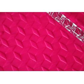 FOUR-C Fondant Embossing Tools Cake Rolling Pin Cupcake Decoration Color Transparent, 1PCS 2822189