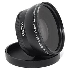 0.45x 55mm Super Wide Angle Lens Professional HD For all Cameras and Camcorders 2742381