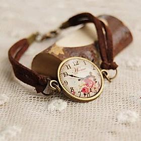 Lovely Imitation Watches Bracelet Leather Bracelets 2802839