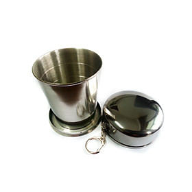 Cup Single Portable Stainless Steel Outdoor for Camping / Hiking 2892756