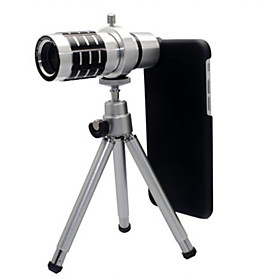 12x Optical Zoom Telescope Camera Lens with Tripod for iPhone 6