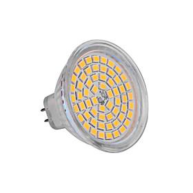 3W GU5.3(MR16) LED Spotlight MR16 60 SMD 3528 250lm Warm White 2800K DC 12V 553614