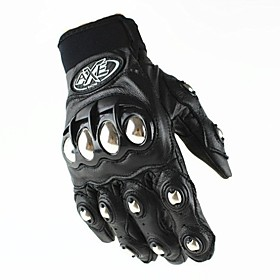 Hot Cool Rider Leather Motorcycle Gloves Motorcross Leather Racing Cycling Bike Breathable Driving Full Finger Glove 2985250
