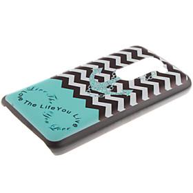 For LG Case Pattern Case Back Cover Case Anchor Hard PC LG 3669481