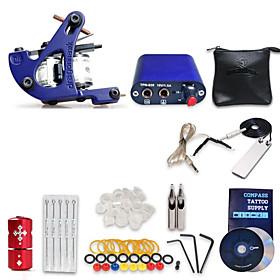eginner Tattoo Kit 1 Machine Gun Power Supply 5 Needles 2845082
