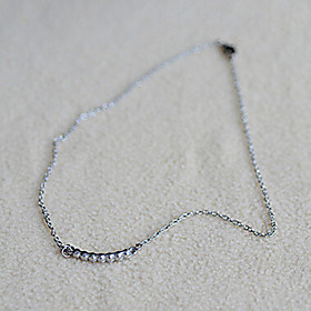 Women's Choker Necklace - Imitation Diamond Necklace Jewelry For Daily