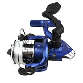 Blue High End Fishing Tool No Gap A Fishing Line Wheel The handle You can Fold 3184899