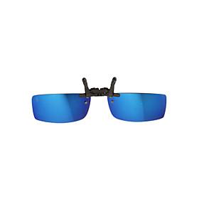 Jimmy Orange 100% UV Plastic Rectangle Clip-on Sunglasses Lenses