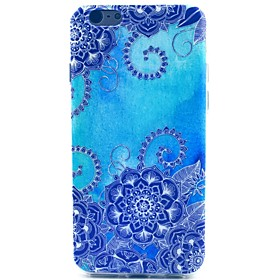 Custodia morbida blu morning glory modello tpu per custodie iphone iphone 5c 2982646