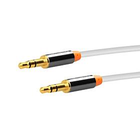 3,5 mm stereo audio kabel til iphone 7 6s plus se 5s / 4 / ipad luft / mini / 4/3/2/1 / ipod bil aux tilslutning kabel 150cm 4527811