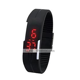 Sport Fitness LED Waterproof JellyWrist Watch