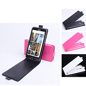PU Leather  Protective Case With Holder Stand for Asus