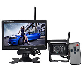 7 Inch Monitor  170°HD Bus Car Rear View Camera  Bus High-Definition Wide Angle Waterproof CMD Camera