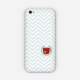 Creasing Cups Pattern PC phone Case Back Cover for iPhone 6 Plus Case 3242364