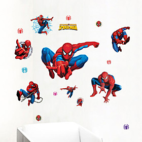 Wall Stickers Wall Decals,Spiderman Collection PVC Wall Stickers 3451727