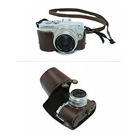 dengpin destacável câmera capa de couro saco de caixa protetora com alça de ombro para Olympus E-PL7 (cores sortidas) 3493172