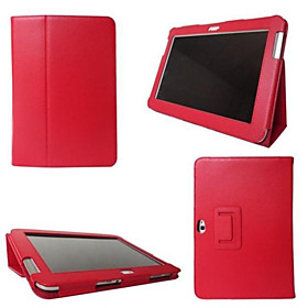 Smart Folio PU Leather Stand Case Cover For Samsung Galaxy TabTab 2 10.1 (P5100/P5110) Tablet Multi-color 3333841