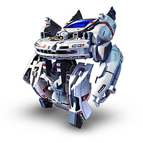 7 In 1 Solar Powered Toys Robots, Monsters  Space Toys Rechargeable ABS Gift Action  Toy Figures Action Games 3241425