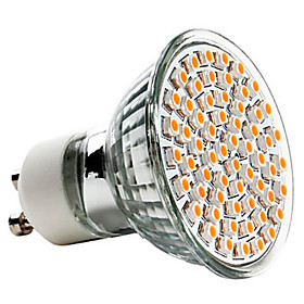 3W GU10 LED Spotlight MR16 60 SMD 3528 150 lm Warm White / Cool White AC 220-240 / AC 110-130 V 4611