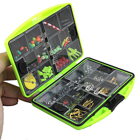 Fishing Tackle Boxes Lure kits Lure Box Waterproof Plastic 11.5 cm 2.5 cm / General Fishing