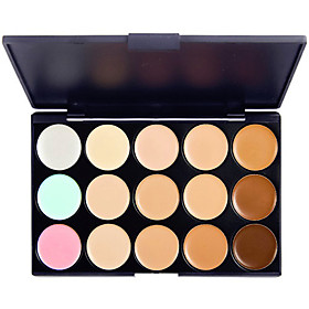 15 Colors 3in1 Professional Camouflage Natural Facial Concealer/Foundation/Bronzer Makeup Cosmetic Palette 4611