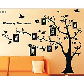 Photo Frame Tree Wall Stickers Zooyoo2141 Kids Room Wall Arts Living Room Wall Decals 3330167