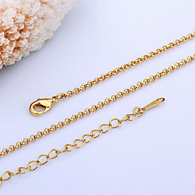 Women's Chain Necklace 18K Gold Plated Pearl Ladies Gold White Necklace Jewelry For