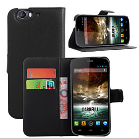 Litchi Around Open Bracket Leather Phone Wallet Card Suitable for Wiko Darkfull (Assorted Color) coupon codes 2016